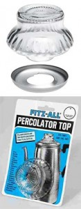 Fitz-All Large Glass Percolator Top
