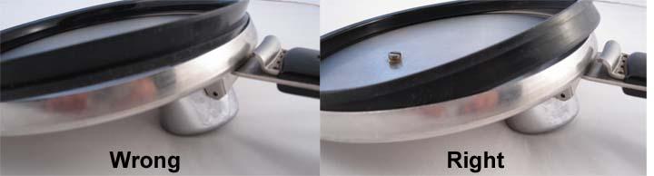 Vintage 4-quart pressure cooker gasket