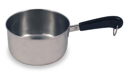 Small 1-screw pan handle
