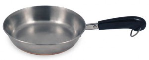 Large 1-screw pan handle
