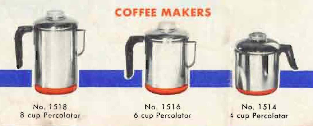 Revere Ware Vintage Percolator Revere Ware Parts