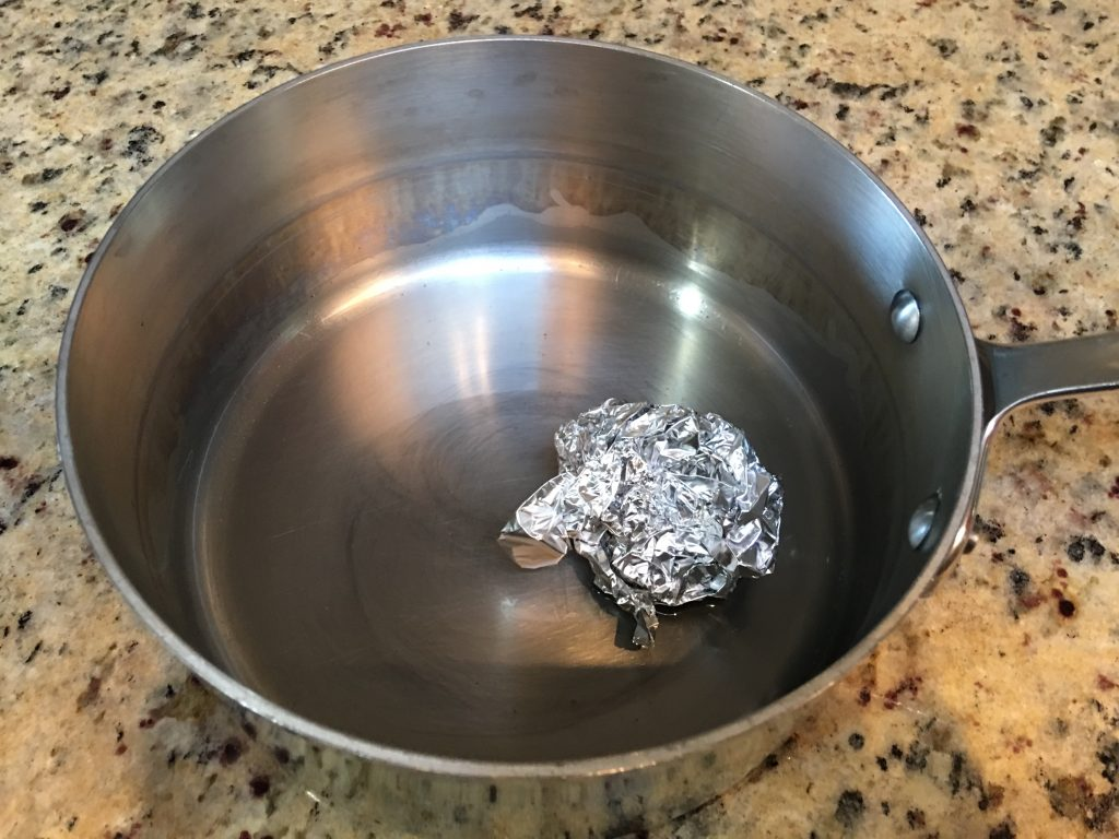 New trick for removing hard water stains from stainless steel ...